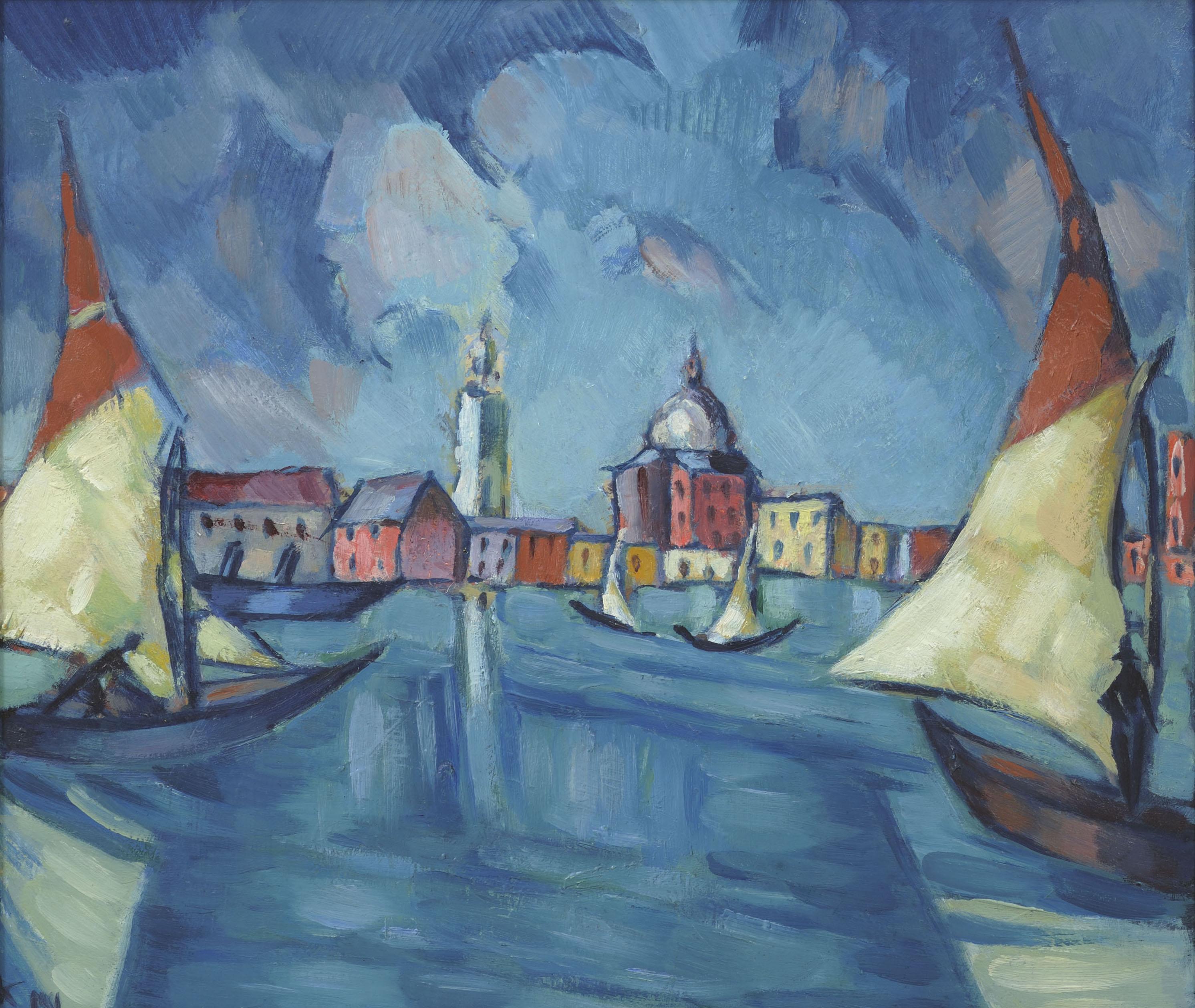 KONRAD MÄGI 1922-1923 Veneetsia